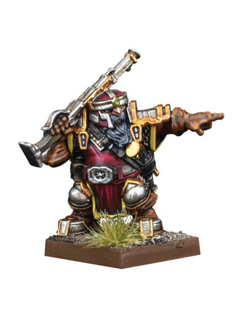 Mantic Games Kings Of War Vanguard Dwarf Support Pack: Ironwatch