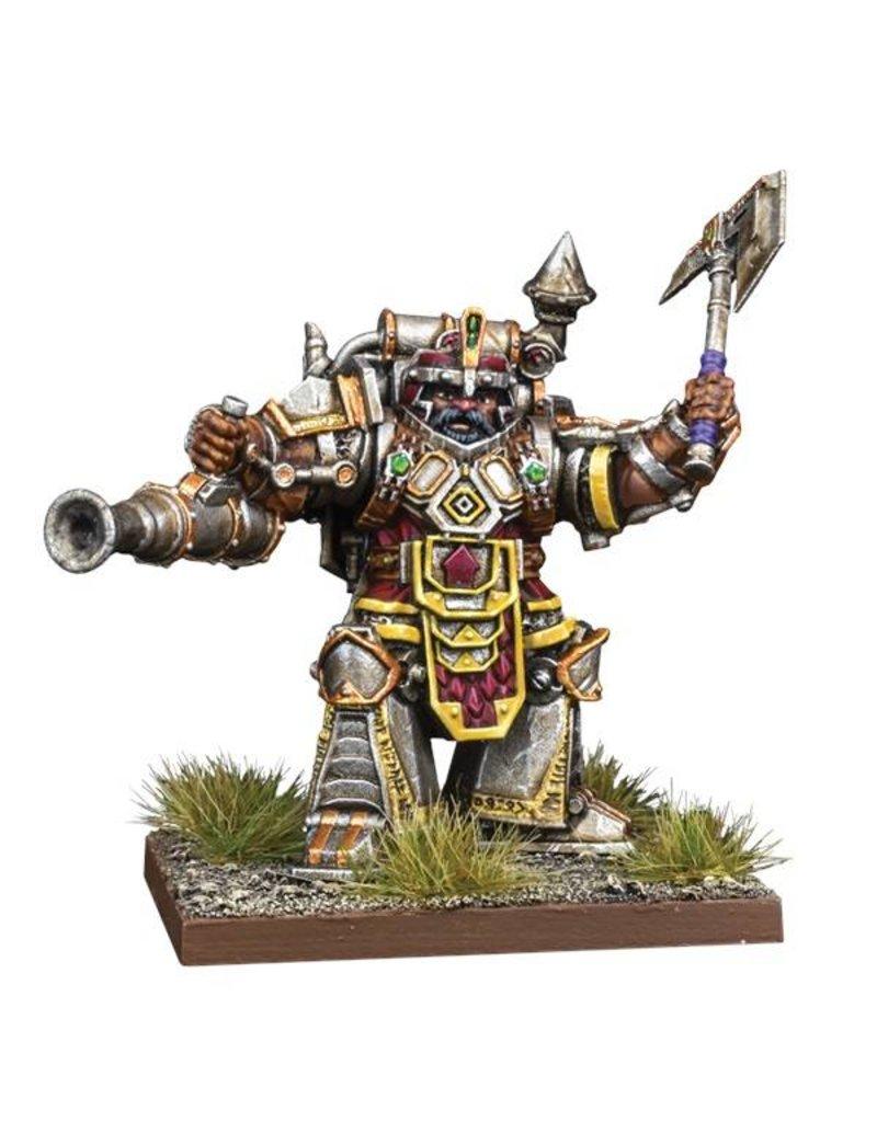 Mantic Games Kings Of War Vanguard Dwarf Support Pack: Steel Juggernaut