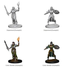 Wizkids Elf Female Fighter (Wave 1)