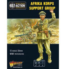 Warlord Games Afrika Korps Support Group