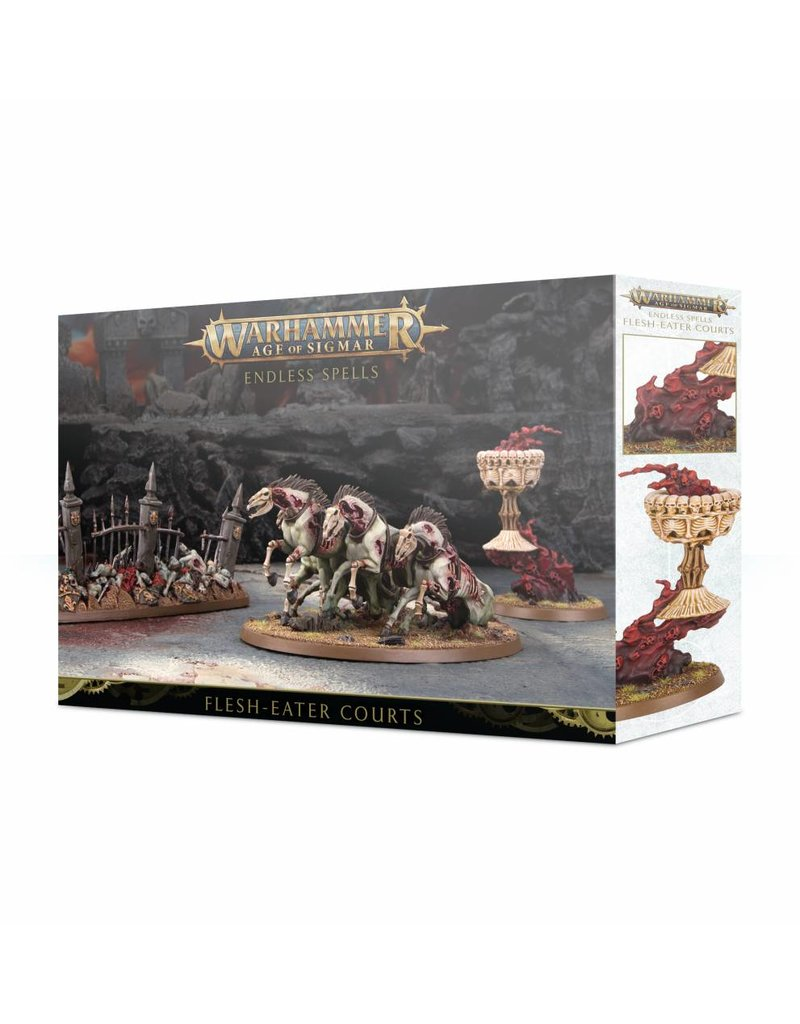 Games Workshop Endless Spells: Flesh-Eater Courts