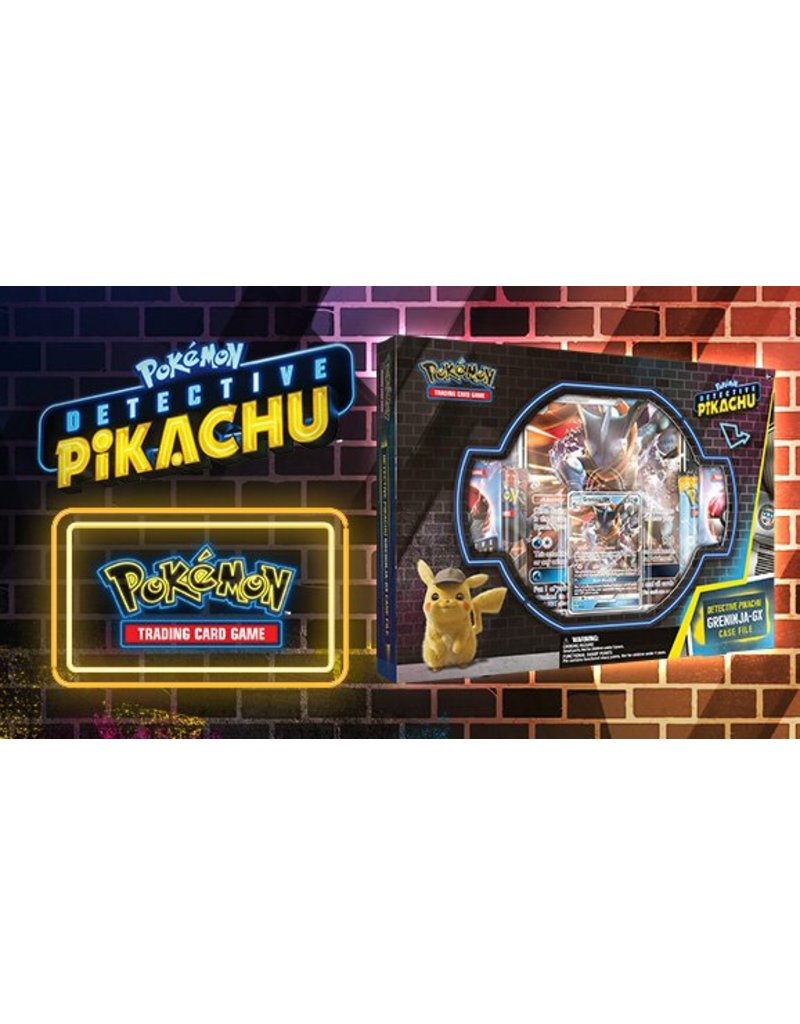 Pokemon TCG: Detective Pikachu Greninja-GX Case File
