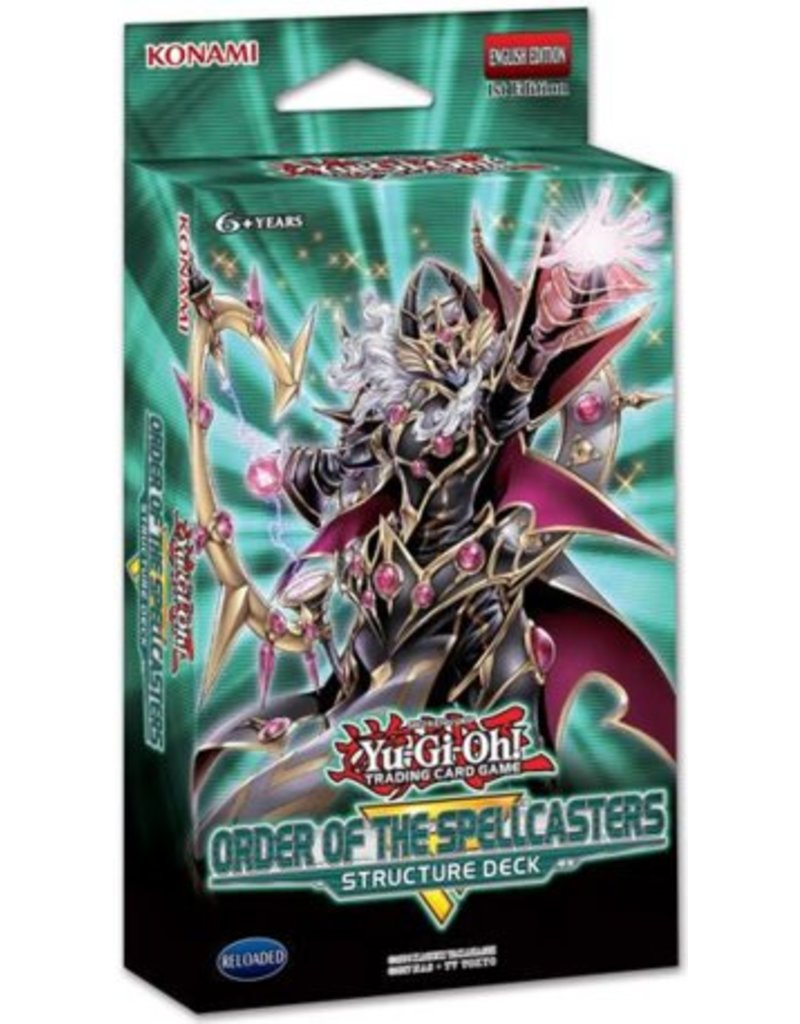 Konami YGO TCG Structure Deck: Order of the Spellcasters