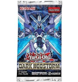 Konami Dark Neostorm 1st Edition Booster