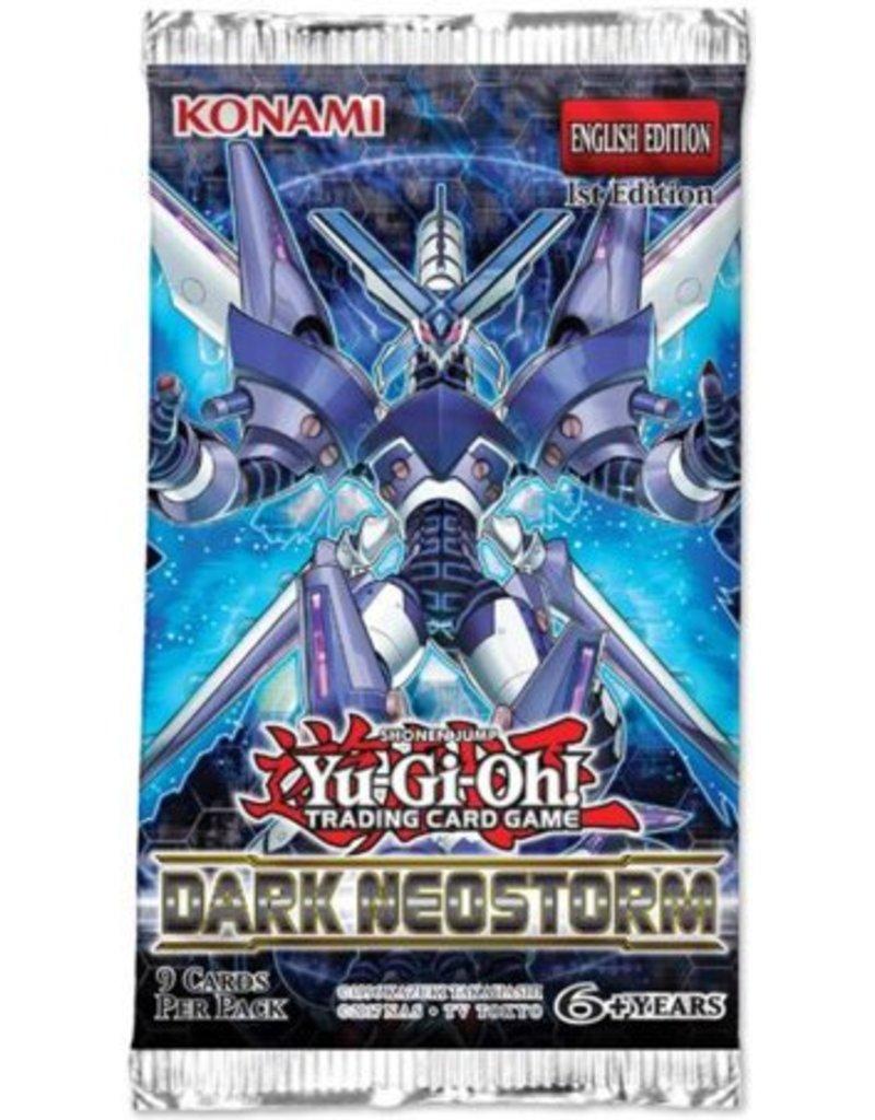 Konami YGO TCG Dark Neostorm 1st Edition Booster