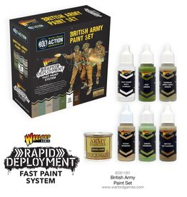 Warlord Games British Paint Set