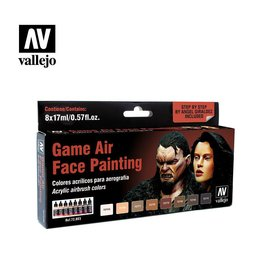 Vallejo Face Painting Set (x8)