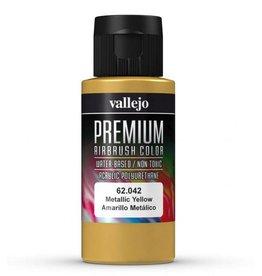 Vallejo Metallic Yellow 60ml