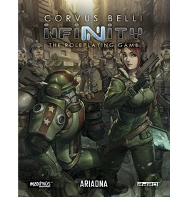 Modiphius Entertainment Infinity RPG: Ariadna Supplement