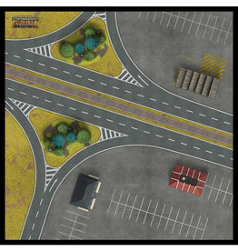 "Gale Force 9 ""Berlin Autobahn"" Gaming Mat"