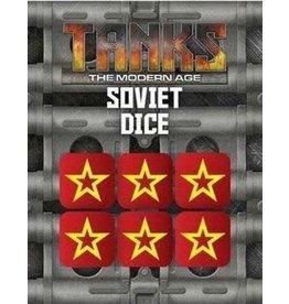 Battlefront Miniatures Modern Tanks Soviet Dice Set