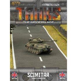 Battlefront Miniatures Scimitar/Scorpion Tank Expansion