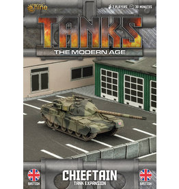 Battlefront Miniatures Chieftain/Stillbrew Tank Expansion