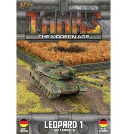 Battlefront Miniatures Leopard 1 Tank Expansion