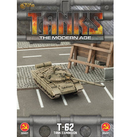 Battlefront Miniatures T-62/T-62m Tank Expansion