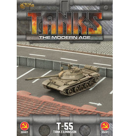 Battlefront Miniatures T-55/T-55am2 Tank Expansion