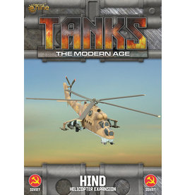 Battlefront Miniatures Mi-24 Hind Helicopter Expansion