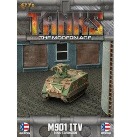 Battlefront Miniatures M901 Itv/M163 Vads Tank Expansion