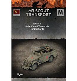 Battlefront Miniatures M3 Scout Transports
