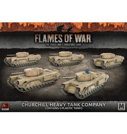 Battlefront Miniatures Churchill Heavy Tank Company