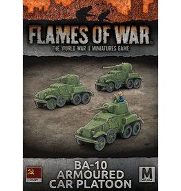 Battlefront Miniatures BA-10 Armoured Car Platoon