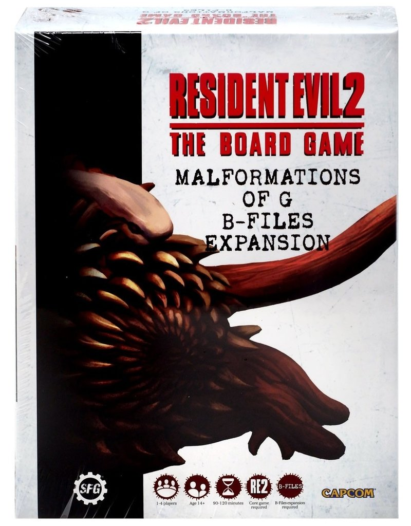 Steamforged Resident Evil 2: Malformations of G: B-Files Expansion