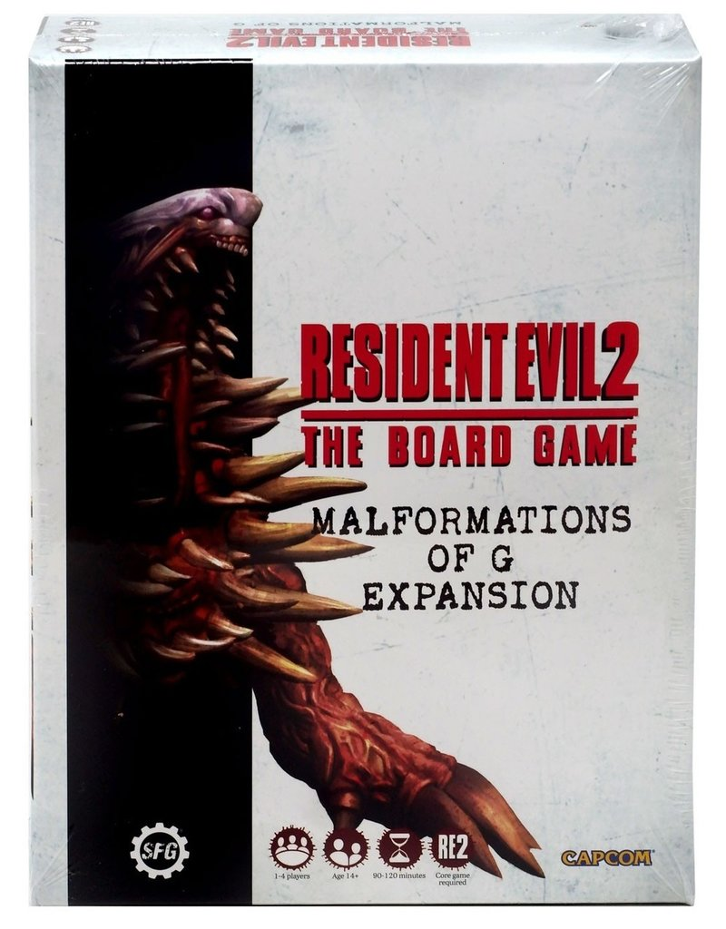 Steamforged Resident Evil 2: Malformations of G Expansion