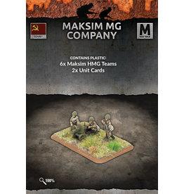 Battlefront Miniatures Maksim MG Company