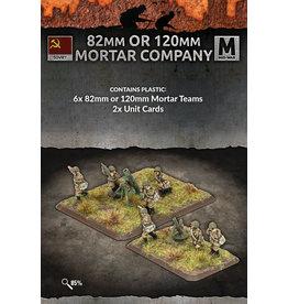 Battlefront Miniatures Soviet 82mm / 120mm Mortar Company