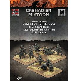Battlefront Miniatures German Grenadier Platoon