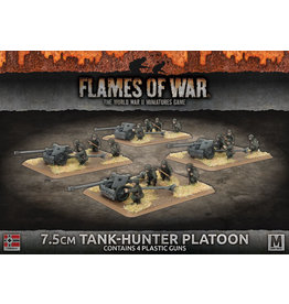 Battlefront Miniatures German 7.5cm Tank Hunter Platoon
