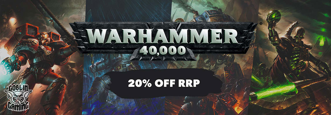20% Off RRP - Warhammer 40,000