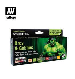 Vallejo Orcs & Goblins Color Set V2