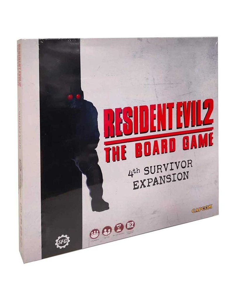 Steamforged Resident Evil 2: 4th Survivor Expansion