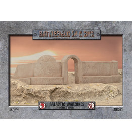Gale Force 9 Galactic Warzones - Desert Walls