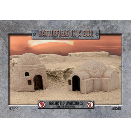 Gale Force 9 Galactic Warzones - Desert Buildings