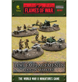 Gale Force 9 Log Emplacements - Dug In Markers