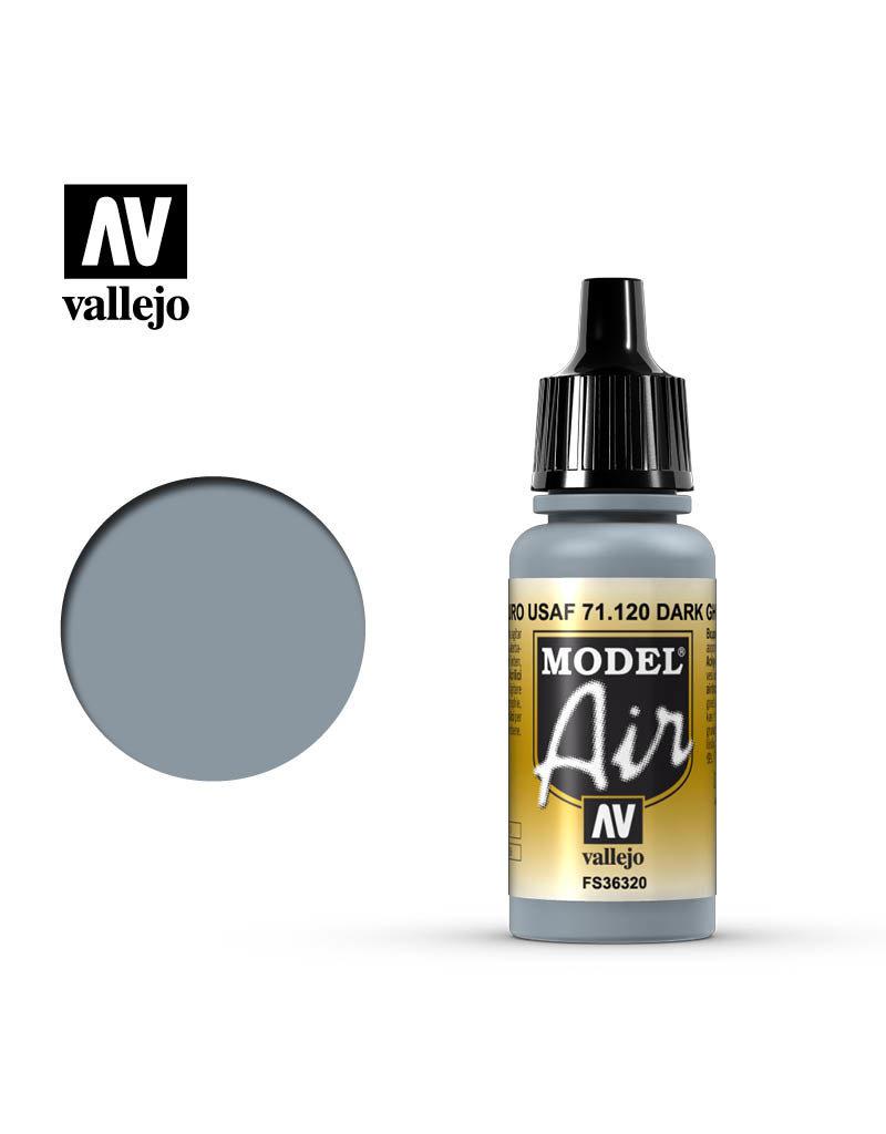 Vallejo Model Air - Dark Ghost Grey 17ml