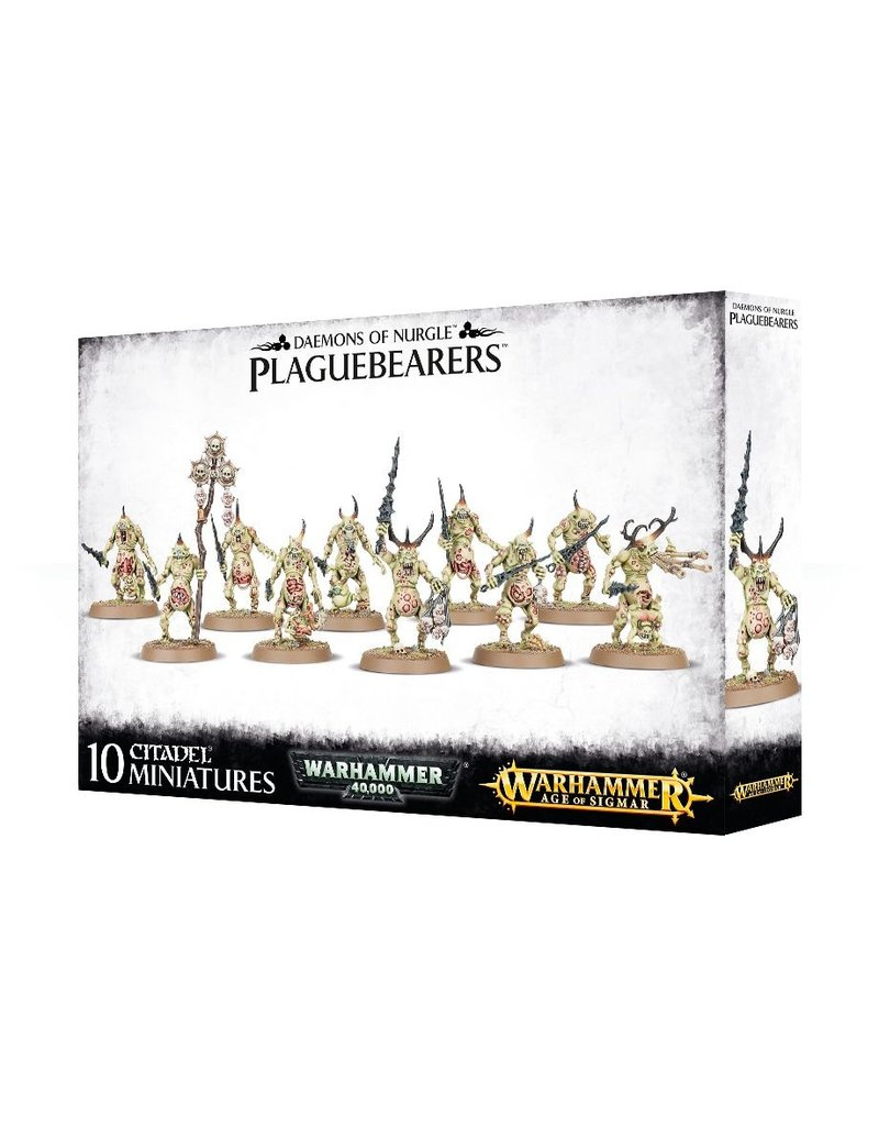 Games Workshop Chaos Daemons Plaguebearers Of Nurgle