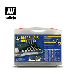 Vallejo Military Colors & Airbrush Set