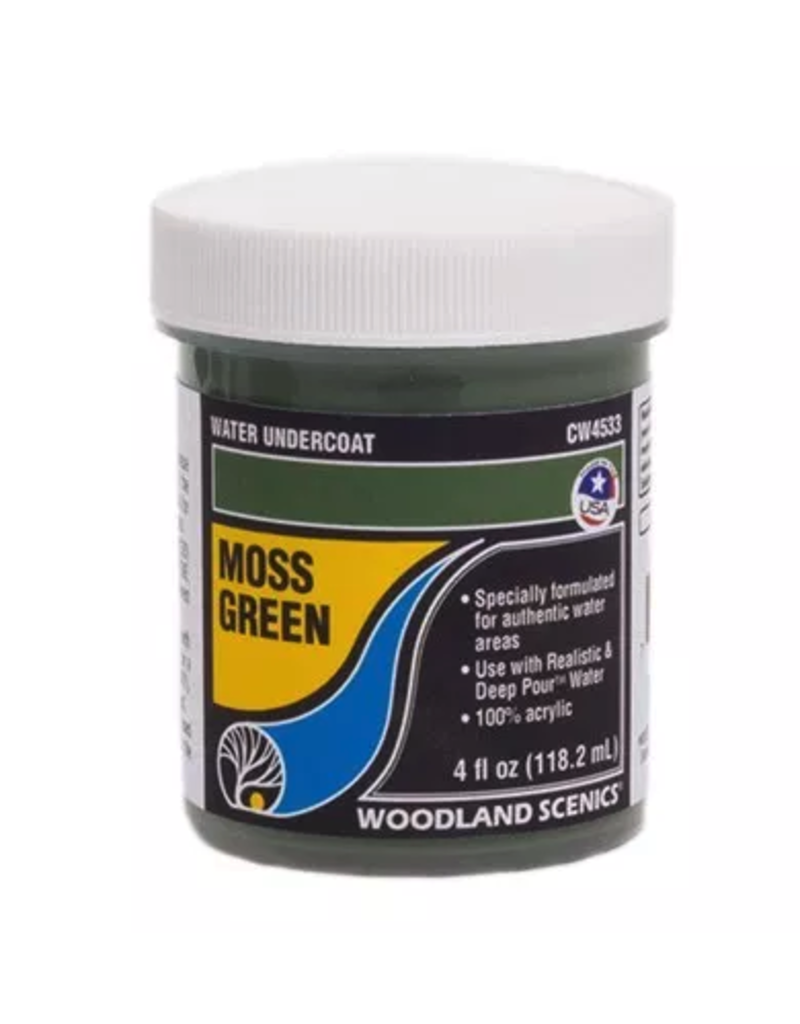 Woodland Scenics Complete Water System - Moss Green Water Undercoat
