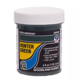 Woodland Scenics Hunter Green Water Undercoat