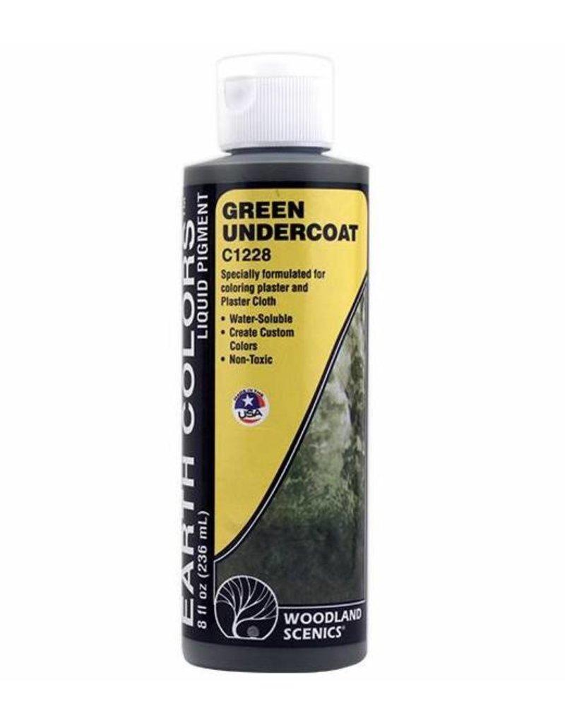 Woodland Scenics Pigment: Green Undercoat 8 Oz