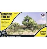 "Woodland Scenics Realistic Trees: 0.75""-3"" Medium Green Deciduous Trees"