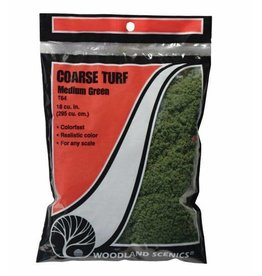 Woodland Scenics Medium Green Coarse Turf