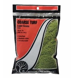 Woodland Scenics Light Green Coarse Turf