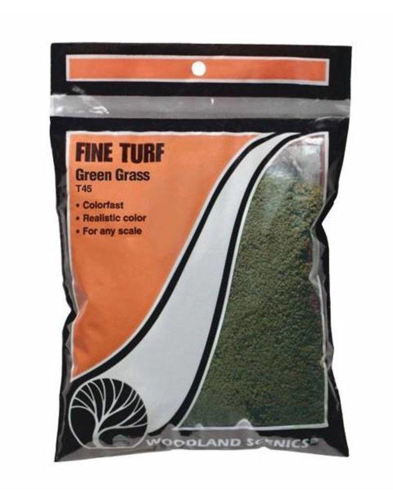 Woodland Scenics Ground Cover: Green Grass Fine Turf (BAG)