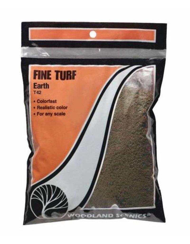 Woodland Scenics Ground Cover: Earth Fine Turf (BAG)
