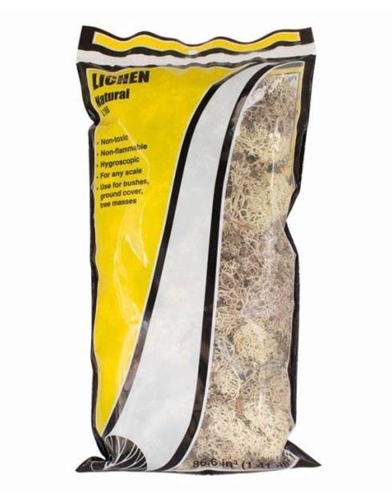 Woodland Scenics Ground Cover: Natural Lichen