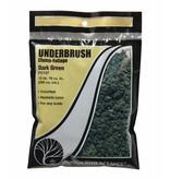 Woodland Scenics Tree Foliage: Dark Green Underbrush (BAG)